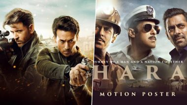 Hrithik Roshan And Tiger Shroff's War To Beat Salman Khan's Bharat In Its Opening Weekend