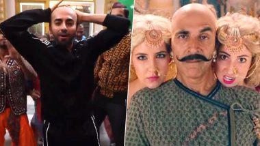 Ayushmann Khurrana Dances to Akshay Kumar's Housefull 4 Track 'Shaitan Ka Saala' in His Bald Avatar and  We Can't Decide Which Bala is Better! (Watch Video)