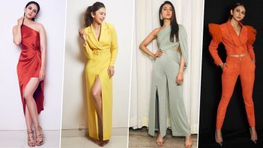 Rakul Preet Singh Birthday Special: The Marjaavaan actress Likes to Drop Style Bombs that are Simply Stunning and Oh-so-Gorgeous (View Pics)