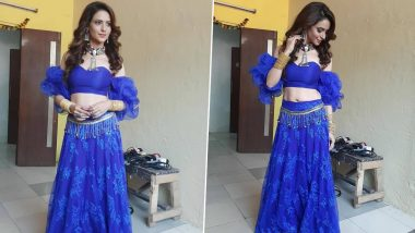 Kasautii Zindagii Kay 2: Aamna Sharif's Sassy Look as Komolika From Her First Day on Set Is Out and We Can't Keep Calm (View Pics)