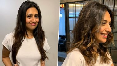Divyanka Tripathi Dahiya Already Regrets Chopping Off Her Long Locks, Says 'Sweet Sacrifices for Work' (View Pics)