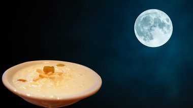Sharad Purnima Kheer Recipe For Kojagiri Purnima 2019: Significance and Benefits of Special Amrit Kheer One Must Have This Festival (Watch Video)