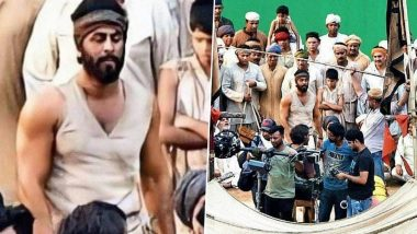 Ranbir Kapoor's Leaked Pictures from the Sets of Shamshera Show Him in a Brawny Avatar and Fans are Mighty Impressed!