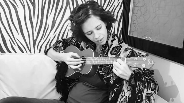 Kalki Koechlin Learns to Play Lullabies on Ukulele as a Part of Her Mummy-Prep, Shares an Adorable Picture Flaunting Her Baby Bump
