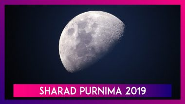 Sharad Purnima 2019: Know The Importance Of This Harvest Festival That Falls On October 13