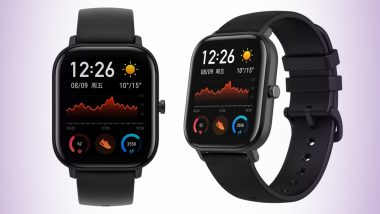 Huami Amazfit GTS Smartwatch With AMOLED Display Launched in India at Rs 9,999; Price, Features & Specifications