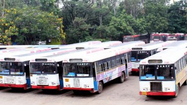 TSRTC Strike: Conductor Ends Life by Hanging Himself Over Fear of Losing Job, Another RTC Worker Sets Himself Ablaze