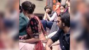 Ranveer Singh Caught Staring At Deepika Padukone's Waist But Fans Are More Interested In The Lady At The Back Eyeing Him (View Pic)