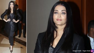 Yo or Hell No? Aishwarya Rai Bachchan's Semi Formal Avatar for Maleficent: Mistress of Evil Press Conference