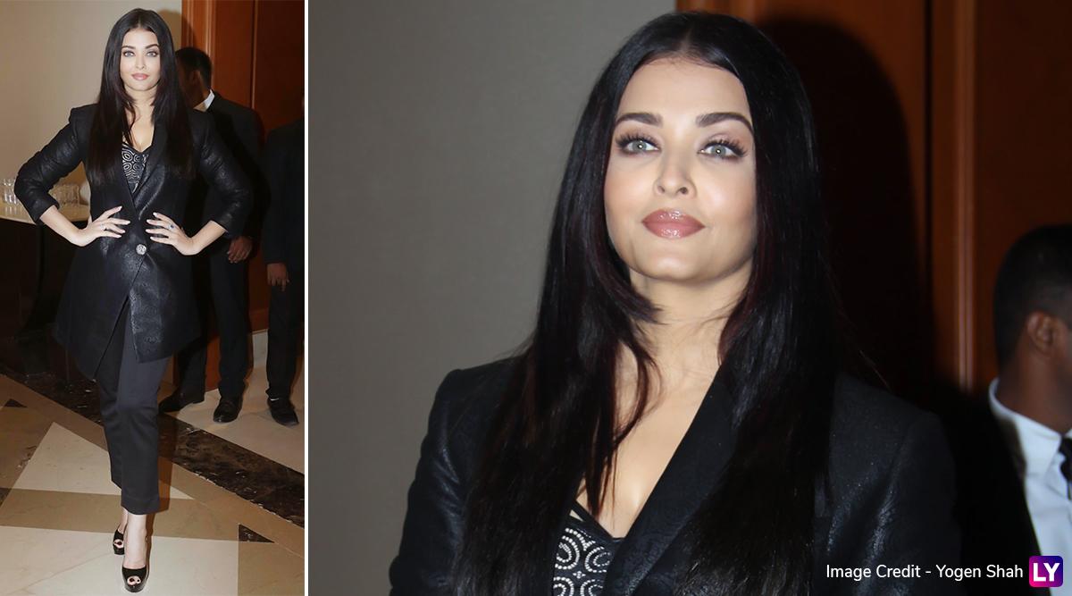 Yo or Hell No? Aishwarya Rai Bachchan's Semi Formal Avatar for Maleficent: Mistress of Evil Press Conference