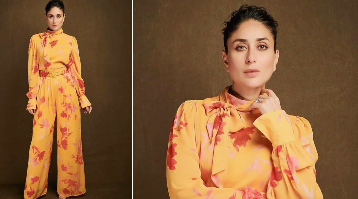 Yo or Hell No? Kareena Kapoor Khan in Yellow Separates by Song of Style for the Shooting of 'What Women Want' Season 2