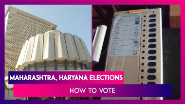 Assembly Elections 2019 In Maharashtra & Haryana: How To Vote On EVM And Verify On VVPAT