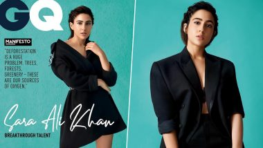 Sara Ali Khan Casts a Black Spell on her Fans through her Stunning Magazine Cover - View Pics