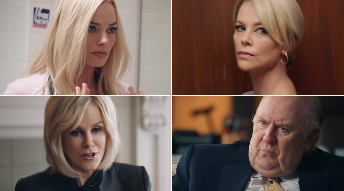 Bombshell Trailer: Charlize Theron, Nicole Kidman and Margot Robbie Say No to Sexism at Workplace and are Up For a Fight With the Bigwigs at Fox News