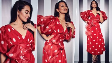 Yo or Hell No? Sonakshi Sinha's Polka Dot Dress by Gauri & Nainika