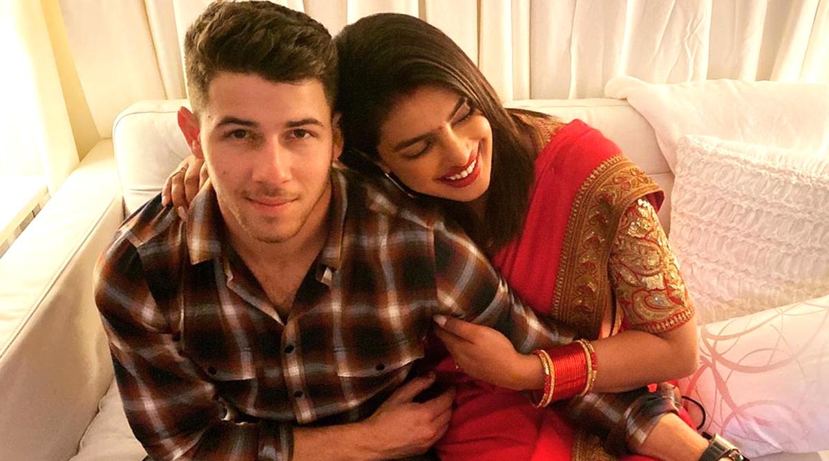 Priyanka Chopra and Nick Jonas Celebrate First Karwa Chauth at the Jonas Brothers Concert - See Pictures