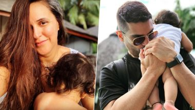 Neha Dhupia and Angad Bedi Share Cute Posts for Daughter Mehr as She Turns 11 Months Old! - See Pics