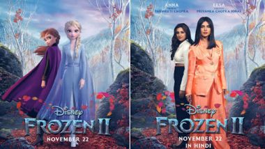 Priyanka Chopra and Parineeti Chopra To Dub In Hindi For Disney's Frozen II