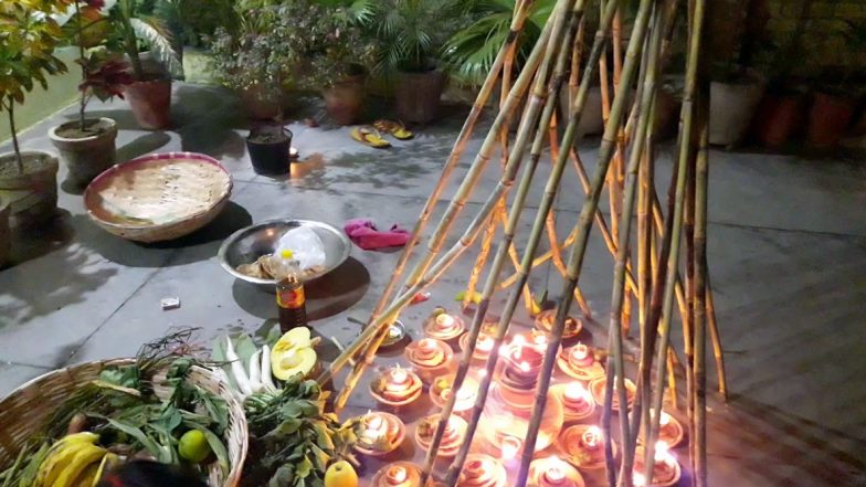 Chhath Puja 2019 Kosi Bharne ki Vidhi: How to Get Your Wish or Mannat Fulfilled by Filling Kosi While Observing Chhath Vrat (Watch Video)