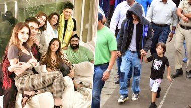 Shah Rukh Khan and Gauri Khan Host a Bash at Their Alibaug House, Close Friends Karan Johar, Manish Malhotra and Sussanne Khan Attend (See Pics)