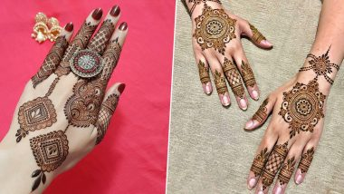 Arabic Mehndi Designs for Diwali 2019: Easy and Beautiful Mehendi Patterns, Vines and Henna Art to Apply This Deepavali