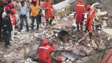 Gujarat Building Collapse: Two Dead After Building Collapses in Chhani Jakatnaka Area of Vadodara