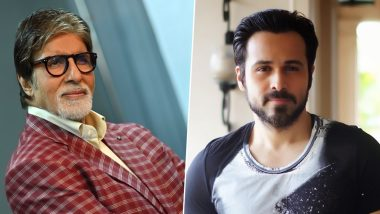 Emraan Hashmi Can't Stop Praising 'Chehre' Co-Star Amitabh Bacchan; Says, 'He Has a Profound Impact on Every Actor and Citizen of India'