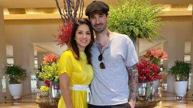 Sunny Leone Pens a Heartwarming Caption to Wish Husband Daniel Weber on His 41st Birthday (View Pic)