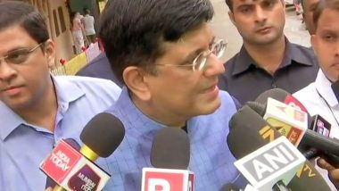 Piyush Goyal Casts His Vote in Mumbai, Says Confident That BJP-Shiv Sena Will Win Around 225 Seats in Maharashtra Assembly Elections 2019