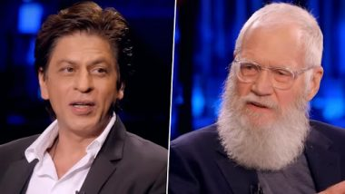 My Next Guest Needs No Introduction with David Letterman: Shah Rukh Khan Will Apologise In Public For This (Watch Video)