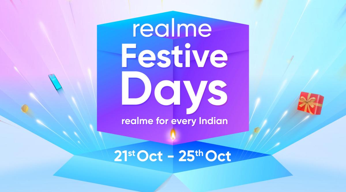 Realme Festive Days Sale 2019: Diwali Offers on Realme XT, Realme C2, Realme 5 Pro & Realme Buds Wireless