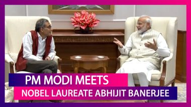 Nobel Laureate Abhijit Banerjee Meets PM Narendra Modi, Calls It A 'Unique Experience'