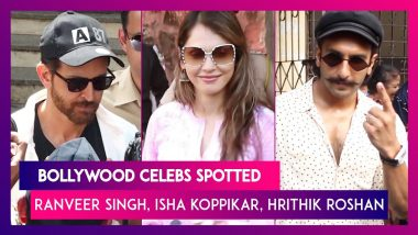 Ranveer Singh, Deepika Padukone, Hrithik Roshan and Other Celebs Spotted in The City
