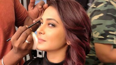 Beyhadh 2 Actress Jennifer Winget's Burgundy Hair Colour Is Just Wow! (View Pics)