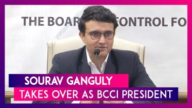 Sourav Ganguly Takes Over As BCCI President, Says Virat Kohli Most Important Man In Indian Cricket