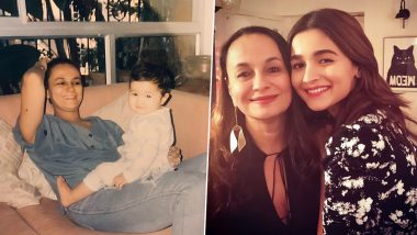 Alia Bhatt Shares an Adorable Throwback Picture with Mom Soni Razdan on Her 63rd Birthday (View Pic)