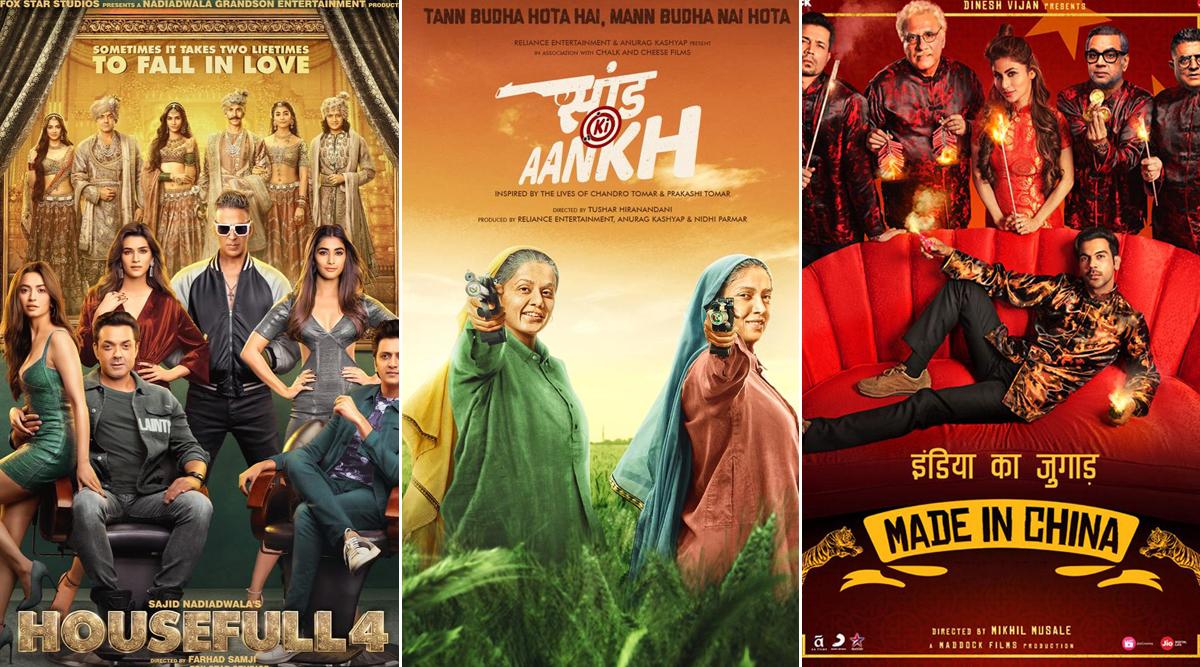 Akshay Kumar's Housefull 4, Rajkummar Rao's Made in China, Taapsee Pannu-Bhumi Pednekar's Saand Ki Aankh – Ranking Diwali 2019 Bollywood Releases From Worst to Best!