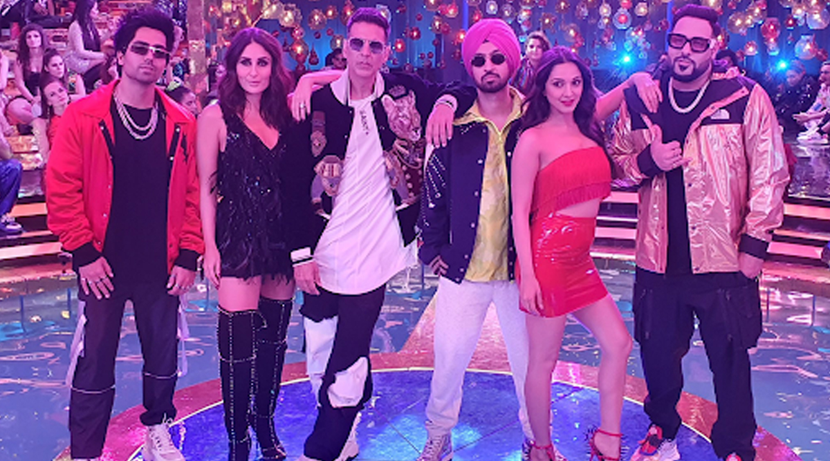 Good Newwz: Akshay Kumar, Kareena Kapoor Khan, Diljit Dosanjh, Kiara Advani Team up With Badshah and Harrdy Sandhu for the Party Anthem of this Year (View Pic)