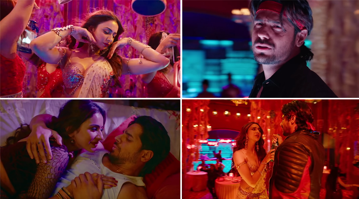 Marjaavaan Song Haiya Ho: Rakul Preet Manages to Shine in this Bad Remake of Vinod Khanna and Feroz Khan's Dayavan Song (Watch Video)