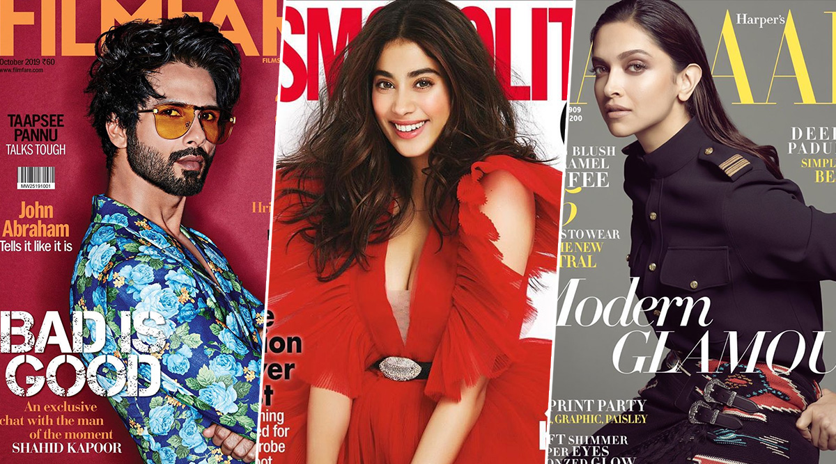 Deepika Padukone's Harper's Bazaar to Janhvi Kapoor's Cosmopolitan India - Let's have a Look at Best and Worst Magazine Covers of October 2019