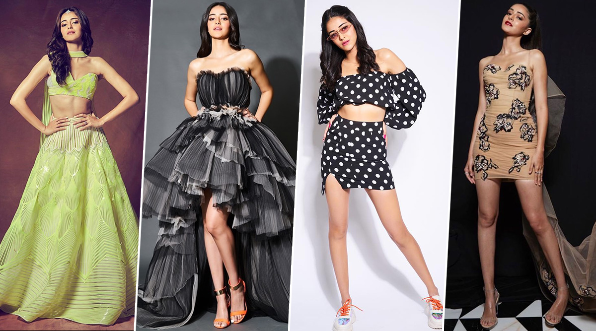 Ananya Panday Birthday Special: This New Student is Already a top Scorer in the Department of Fashion (View Pics)