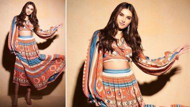 Yo or Hell No? Tara Sutaria in Pallavi Singhee for Marjaavaan Promotions