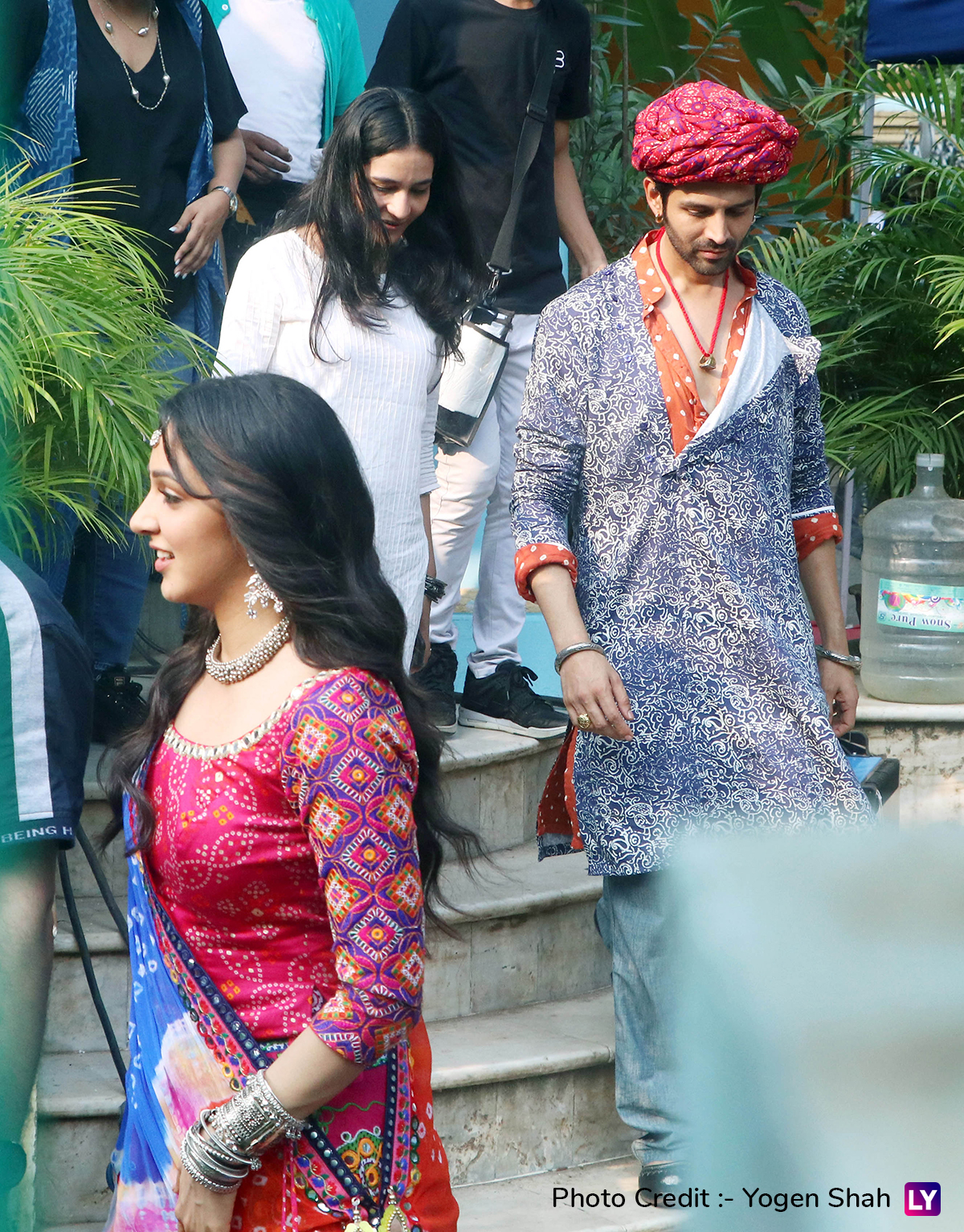 Kartik Aaryan and Kiara Advani on Bhool Bhulaiyaa 2
