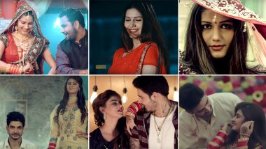 Karwa Chauth 2019 Songs List: From Sapna Chaudhary's Haryanvi Song 'Mera Chand' to Dev Heer's Punjabi Track 'Chann', These Festive Numbers Are A Delightful Platter