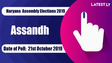 Assandh Vidhan Sabha Constituency in Haryana: Sitting MLA, Candidates For Assembly Elections 2019, Results And Winners