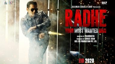 Dabangg 3 Star Salman Khan Says 'Radhe Is Going to Be the 'Baap' in the Cop-Action Genre'
