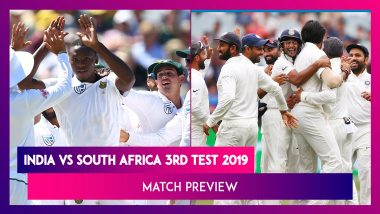 India vs South Africa 3rd Test 2019, Match Preview: Dominant IND Aim for Clean Sweep Over SA