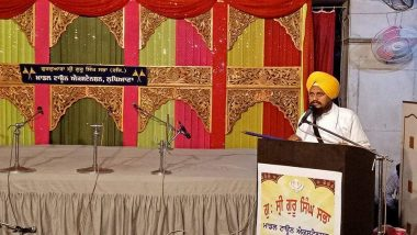'Ban RSS', Demands Akal Takht Chief Giani Harpreet Singh, Accuses Group of Dividing The Nation