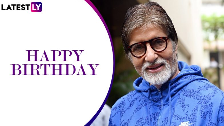 Amitabh Bachchan Birthday Special: How the Veteran Star's Second Innings in Bollywood is a Lesson For All Actors