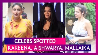 Kareena Kapoor Khan, Aishwarya Rai Bachchan, Alia Bhatt & Others Seen In The City | Celebs Spotted